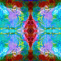 Wisdome And Mystery Abstract Pattern Artwork By Omaste Witkowski by Omaste Witkowski