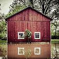 Wise Old Barn Flood by Joshua Zaring