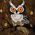 Wise Owl by Liane Wright