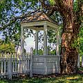 Wishing Well At Yorktown by Jerry Gammon