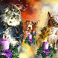 Wishing You A Blessed Advent by Miki De Goodaboom