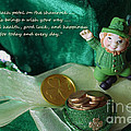 Wishing You A Happy St. Patricks Day by Living Color Photography Lorraine Lynch