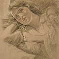 Wistful - Drawing by Sarah Parks