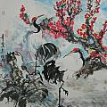 Wit The Plum Tree by Min Wang