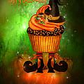 Witch Cupcake 4  by Carol Cavalaris