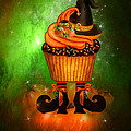 Witch Cupcake 6 by Carol Cavalaris