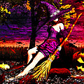 Witch In The Punkin Patch by Bob Orsillo
