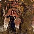 Witch Of The Autumn Forest  by Daniel Eskridge