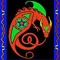 Witches Dragon by Vagabond Folk Art - Virginia Vivier