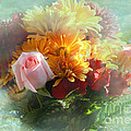 With Love Flower Bouquet by Luther Fine Art