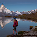 With The Matterhorn In The Background by Menno Boermans