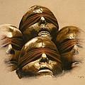 Some Heads by Mojgan Jafari