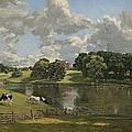 Wivenhoe Park Essex by John Constable