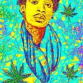 Wiz Khalifa Drawing In Line by Kenal Louis