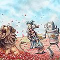 Wizard Of Oz - Poppy Field by Jeremy Gorman