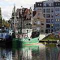 Wladyslawowo And Gdynia In Gdansk Harbor by Christiane Schulze Art And Photography