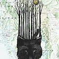 wolf barcode by Sassan Filsoof