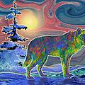Wolf Gaze by Teresa Ascone