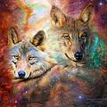 Wolf - Spirit Of The Universe by Carol Cavalaris