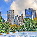 Wollman Rink In Central Park by Randy Aveille