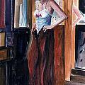 Woman Dressed by Steven Schultz
