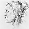 Woman Head Study by Irina Sztukowski
