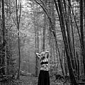 Woman In A Forrest by Ralf Kaiser