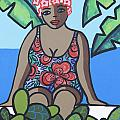 Woman In Bathing Suit 4 by Trudie Canwood