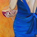 Woman In Blue by Debi Starr