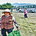 Woman In China by Cathy Anderson