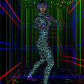 Woman In Cyber Passage by Judi Suni Hall