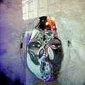 Woman In Silver Mask by Ed Weidman