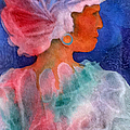 Woman In Turban by Teresa Ascone