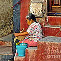 Woman Of Colonial Mexico by Linda  Parker