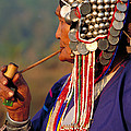 Akha Hill Tribe Woman  Thailand by Art Wolfe