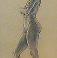 Woman Standing by Sarah Parks