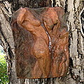 Woman Torso Relief by Flow Fitzgerald