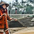 Woman Vietnam Color by Chuck Kuhn