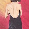 Woman With Towel by Brenda Bonfield