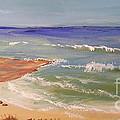 Wombarra Beach by Pamela  Meredith