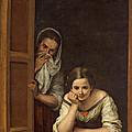 Women From Galicia At The Window by Bartolome Esteban Murillo