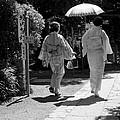 Women In Kimono by Larry Knipfing