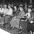 Women Spectators by Underwood Archives
