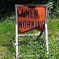 Women Working by Ed Weidman