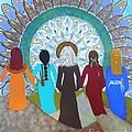 Women's Circle Mandala by Jean Fry