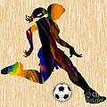 Women's Soccer by Marvin Blaine