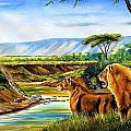 Wonder Of The Great Migration by Chagwi