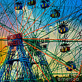 Wonder Wheel by Lilliana Mendez