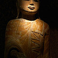 Wood Buddha Statue by August Timmermans