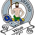 Wood Clan Badge by Heraldry